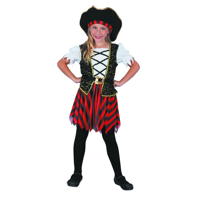 CASALLIA - Kostým Pirátka s kloboukem S