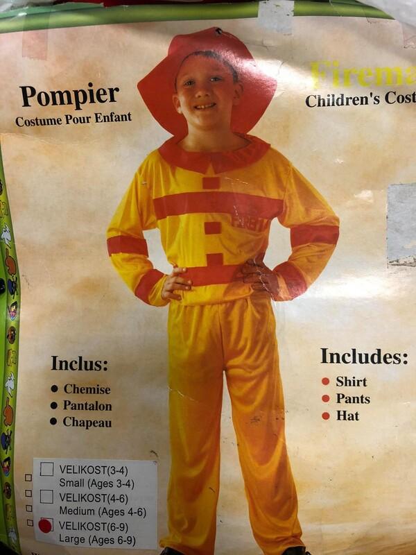 CASALLIA - Kostým Požárník L