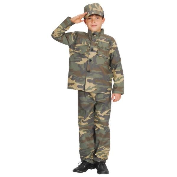 CASALLIA - Karnevalový kostým Voják s čepicí S