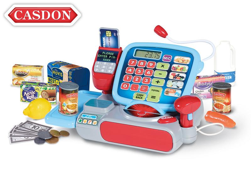 CASDON - Pokladna s příslušenstvím 28x14x15 cm