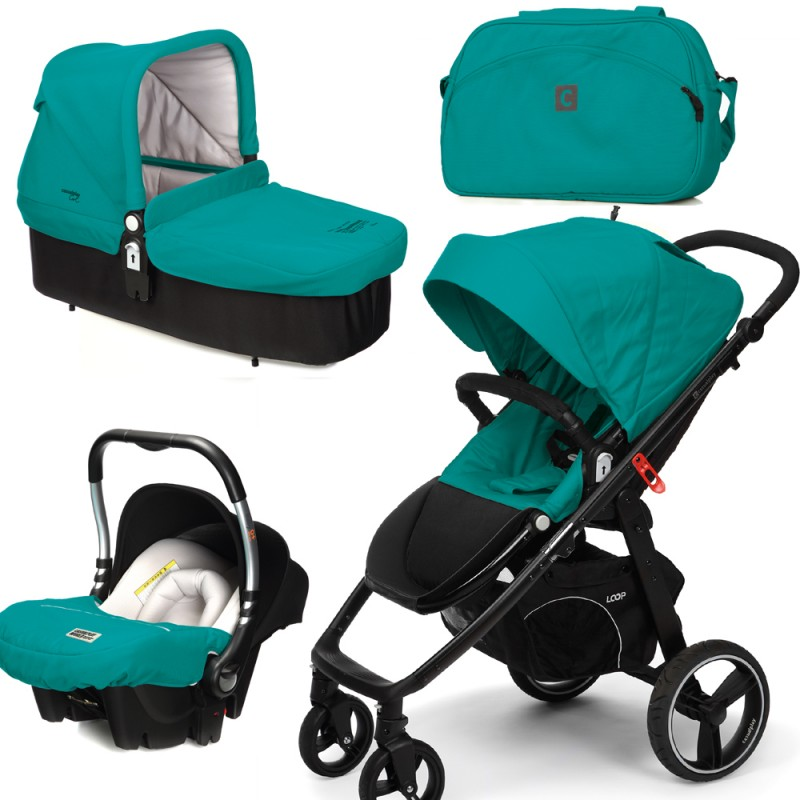 CASUALPLAY - Set kočárek LOOP, autosedačka Baby 0plus, vanička Cot a Bag 2015 - ALLPORTS