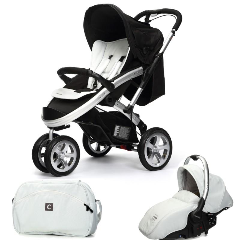 CASUALPLAY - Set sportovní kočárek S4, autosedačka Sono a Bag 2015 - ICE