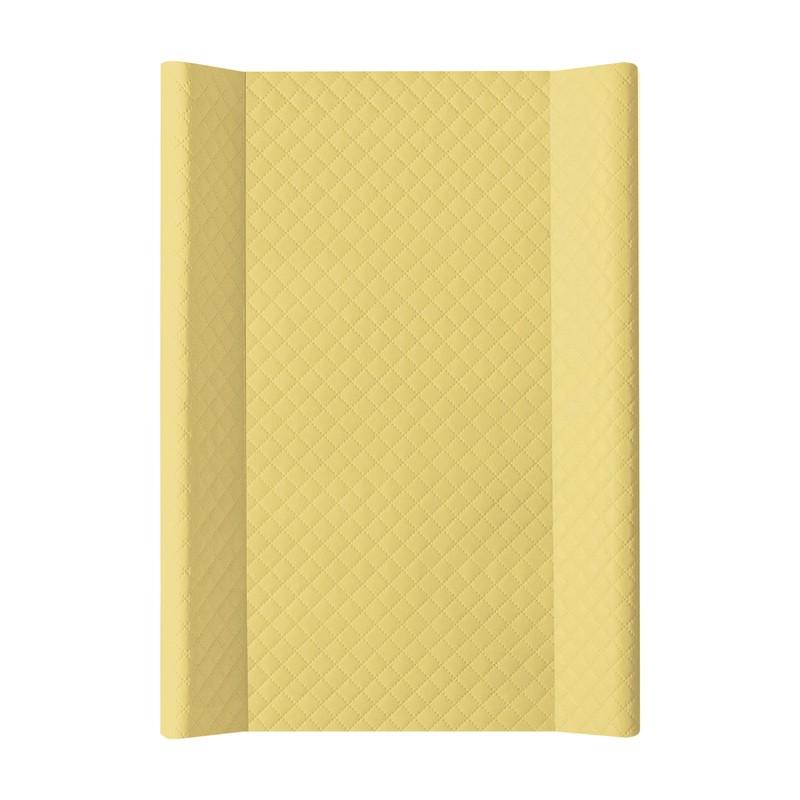 CEBA - Podložka přebalovací 2-hranná MDF 70x50 cm CARO Mustard