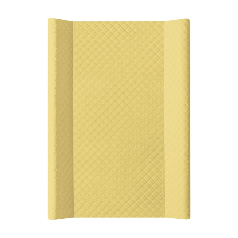 CEBA - Podložka přebalovací měkká 2-hranná 70x50 cm CARO Mustard