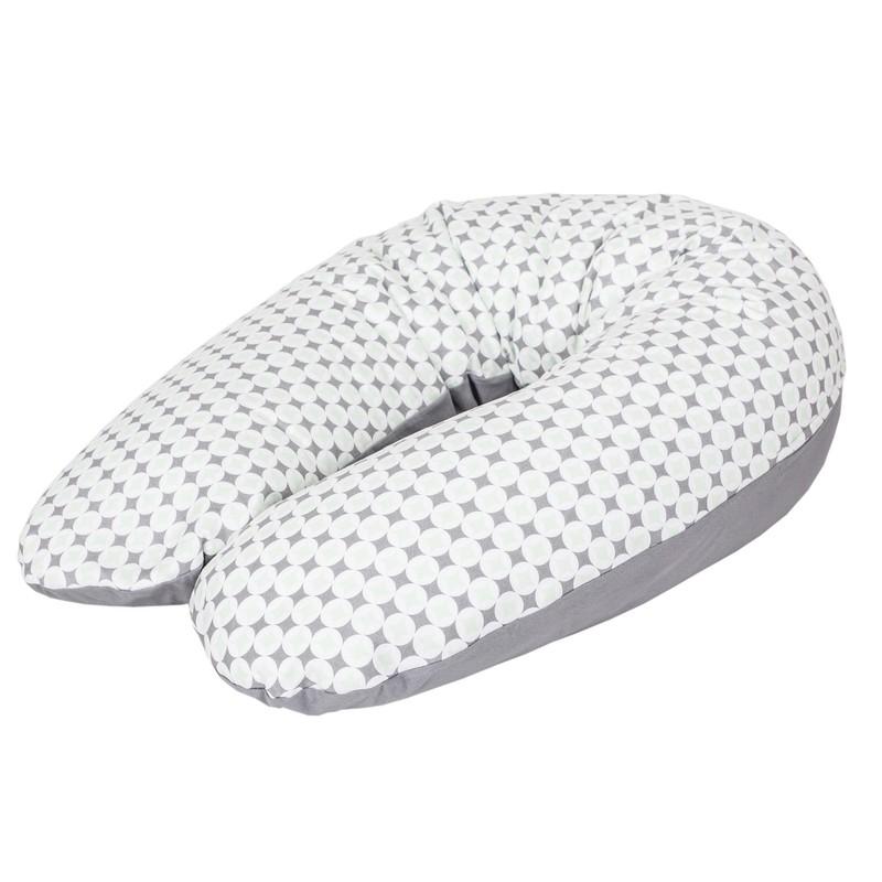 CEBA - Polštář na kojení Cebuszka PHYSIO Multi žerzej Bílé tečky
