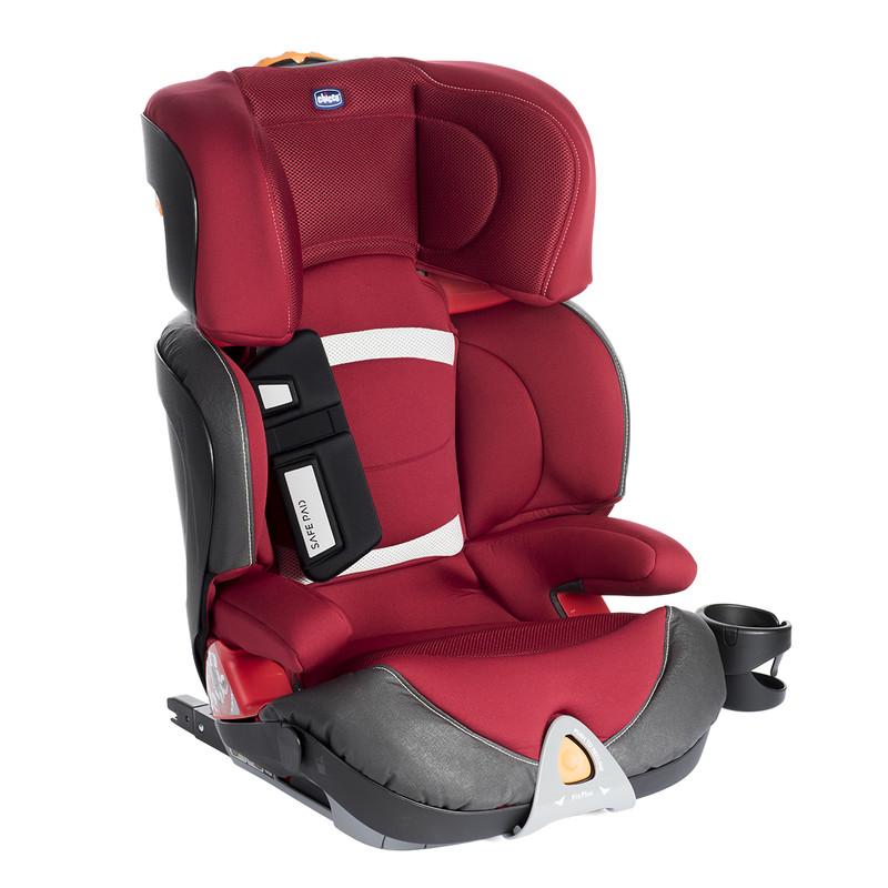 CHICCO - Autosedačka Oasys 2-3 FixPlus Evo, 15-3 kg - Red Passion