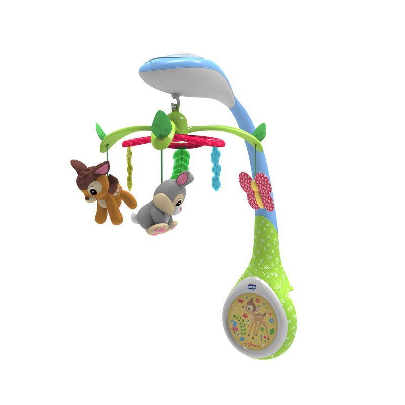 CHICCO - Kolotoč nad postýlku Bambi Chicco Disney