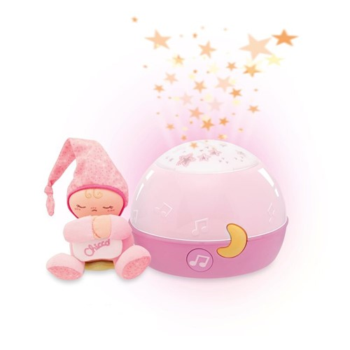 Chicco - Projektor GoodNight Stars - růžový