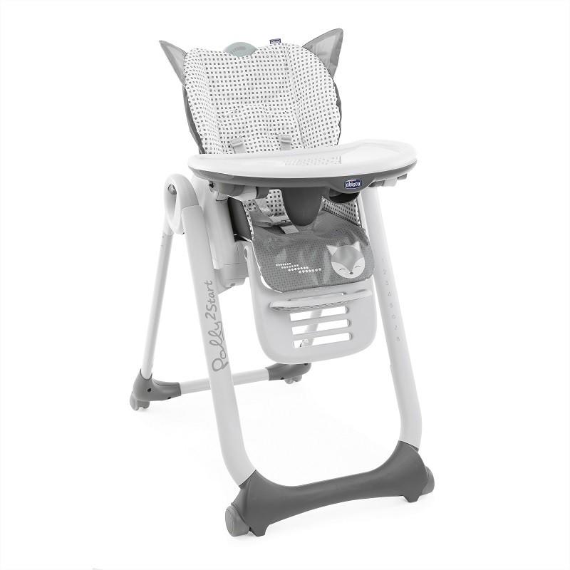 CHICCO - Židlička jídelní Polly 2 Start - Foxy