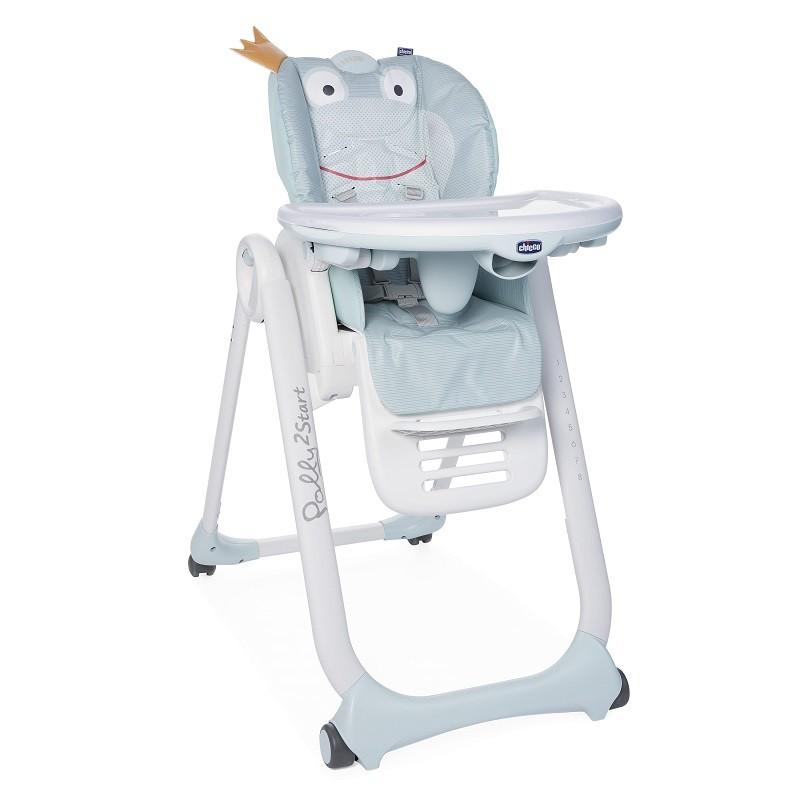 CHICCO - Židlička jídelní Polly 2 Start -Froggy
