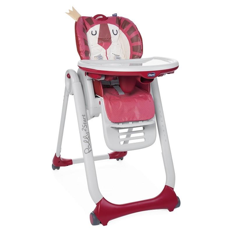 CHICCO - Židlička jídelní Polly 2 Start - Lion
