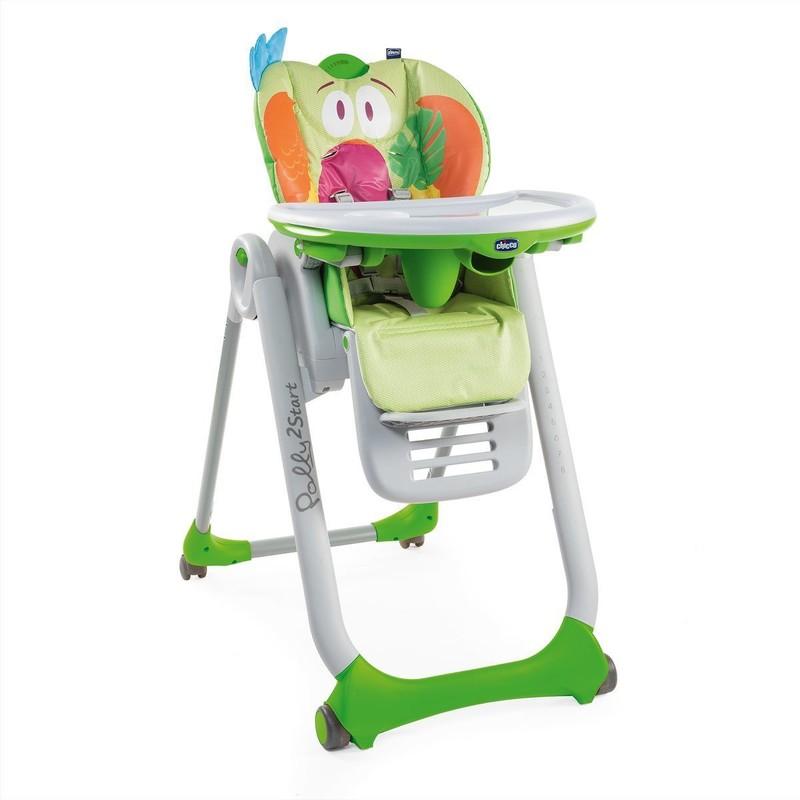 CHICCO - Židlička jídelní Polly 2 Start - Parrot