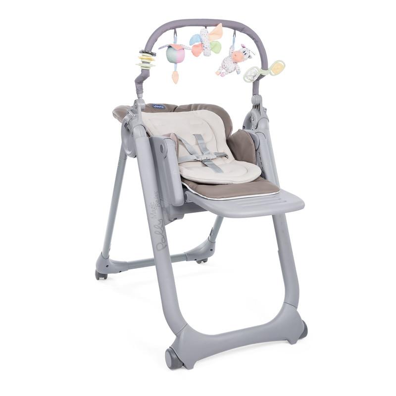 CHICCO - Židlička jídelní Polly Magic Relax - Cocoa