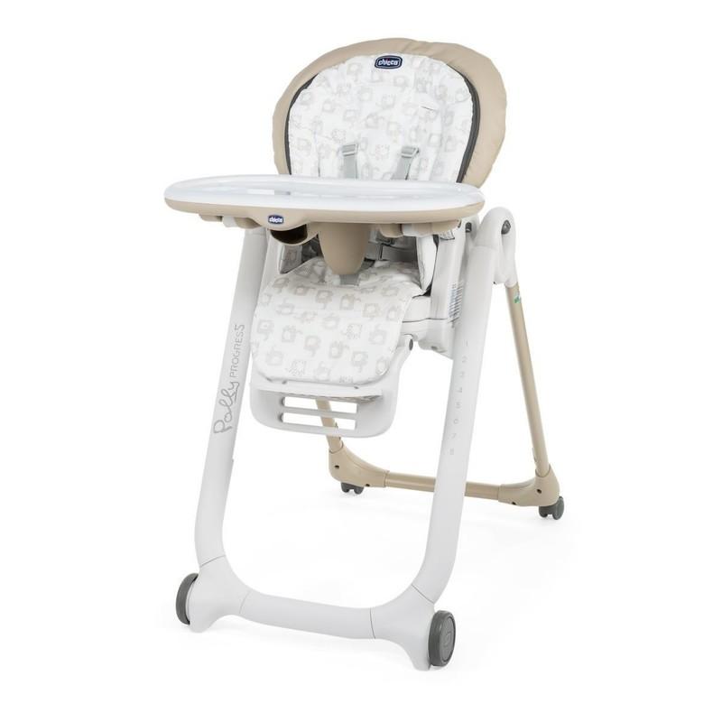CHICCO - Židlička jídelní Polly Progres5 - Beige