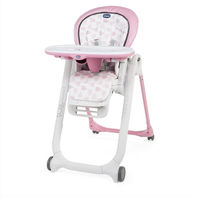 CHICCO - Židlička jídelní Polly Progres5 - Pink