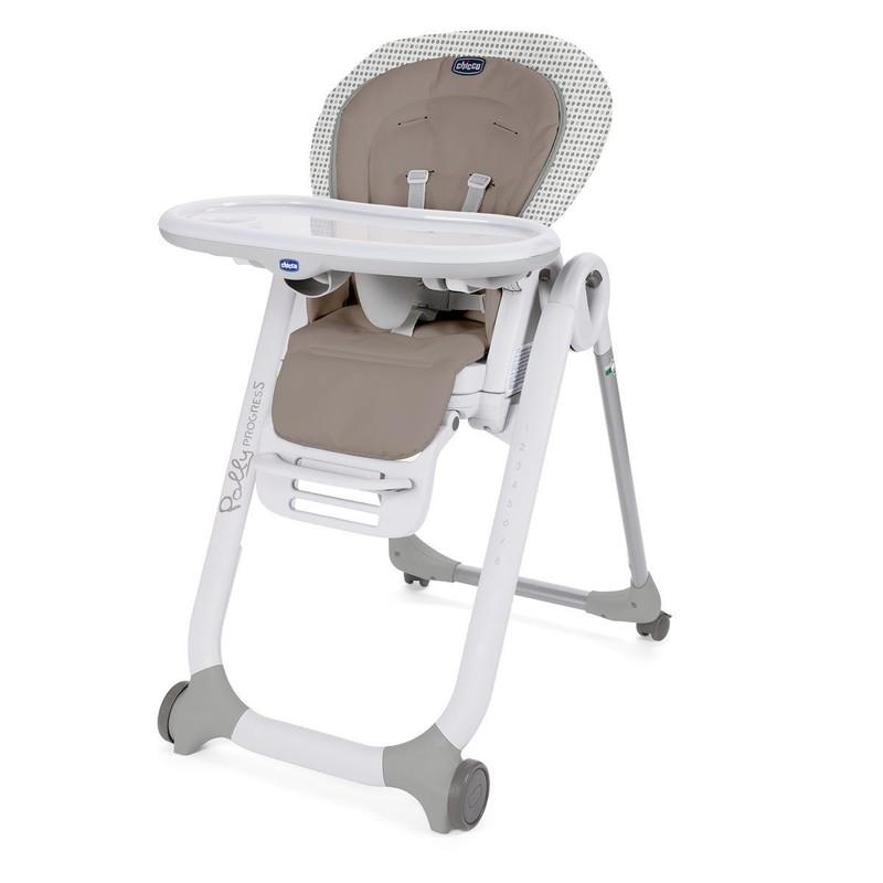 CHICCO - Židlička jídelní Polly Progres5 - Pois
