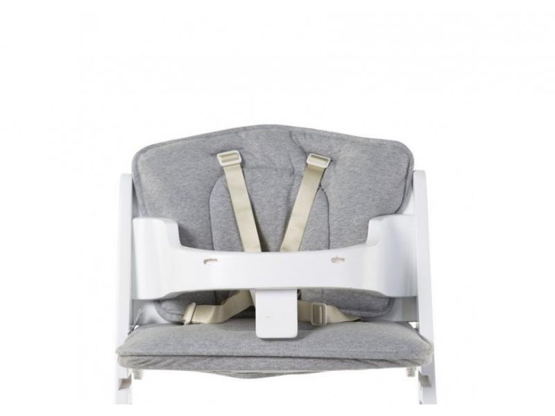 CHILDHOME - Sedací polštářky do rostoucí židličky Jersey Grey