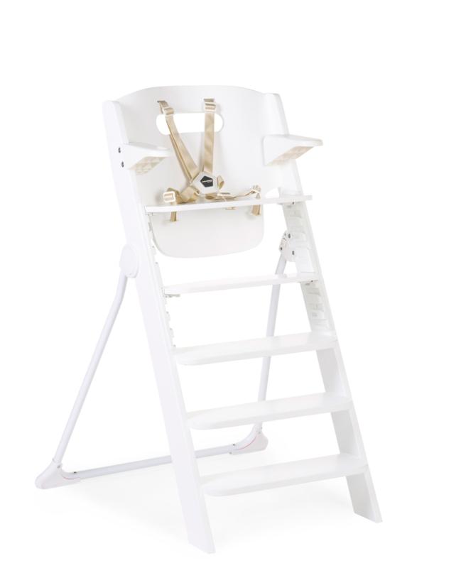 CHILDHOME - Židlička 4v1 Kitgrow Wood White