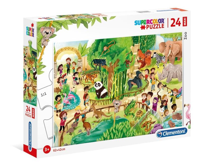 CLEMENTONI - Puzzle 24 Zoo
