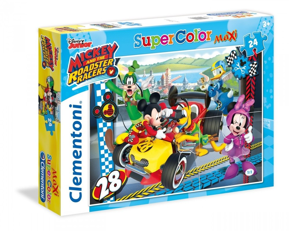 CLEMENTONI - puzzle maxi 24 Mickey