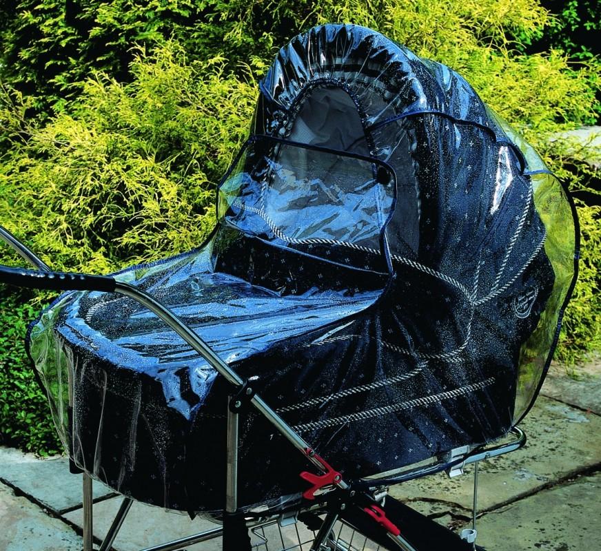 CLIPPASAFE - Pláštěnka na hlubokou korbu, 70 x 42 cm
