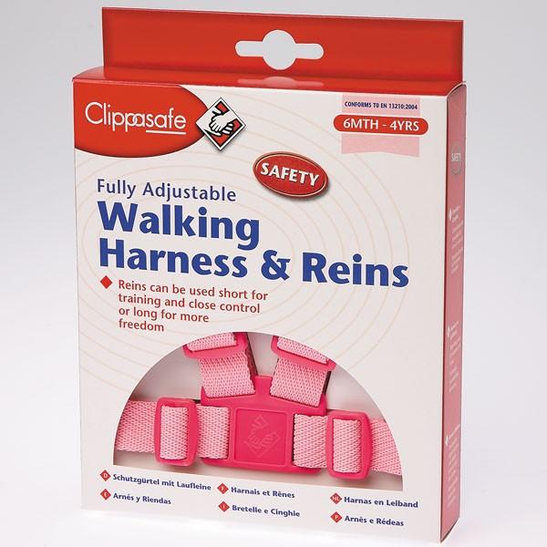 CLIPPASAFE - Vodítko pro dítě - Růžové