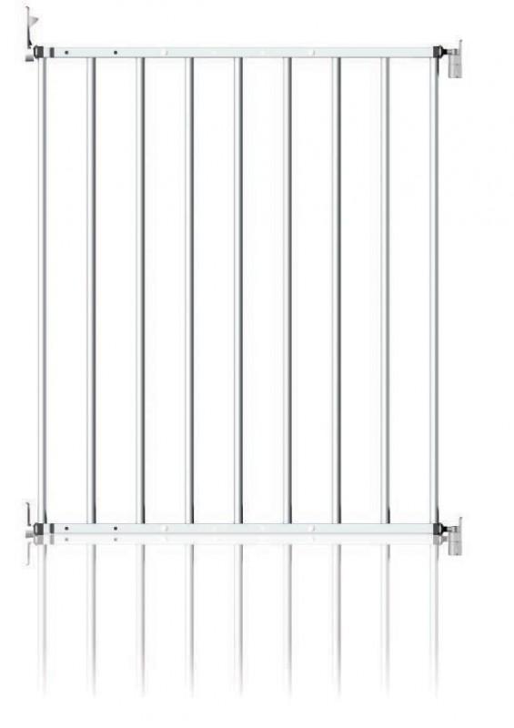 CLIPPASAFE - Zábrana NOTRIP (kov) 61-109cm - bílá