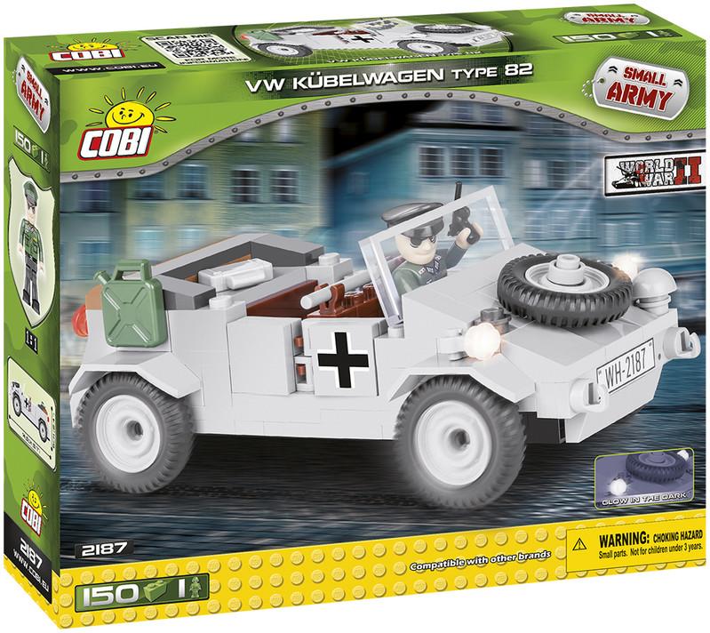 COBI - 2187 Small Army II WW VW Kübelwagen typ 82