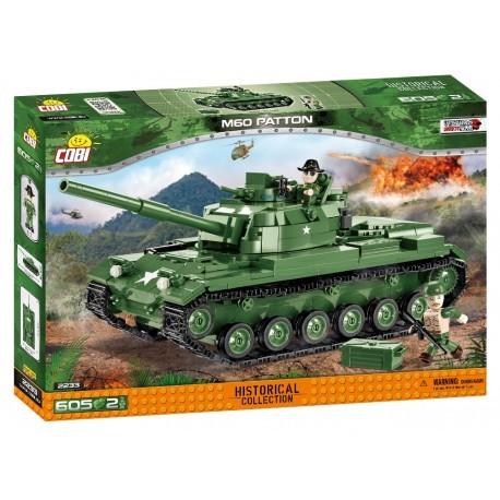 COBI - 2233 Small Army M60 Patton MBT, 605 k,
