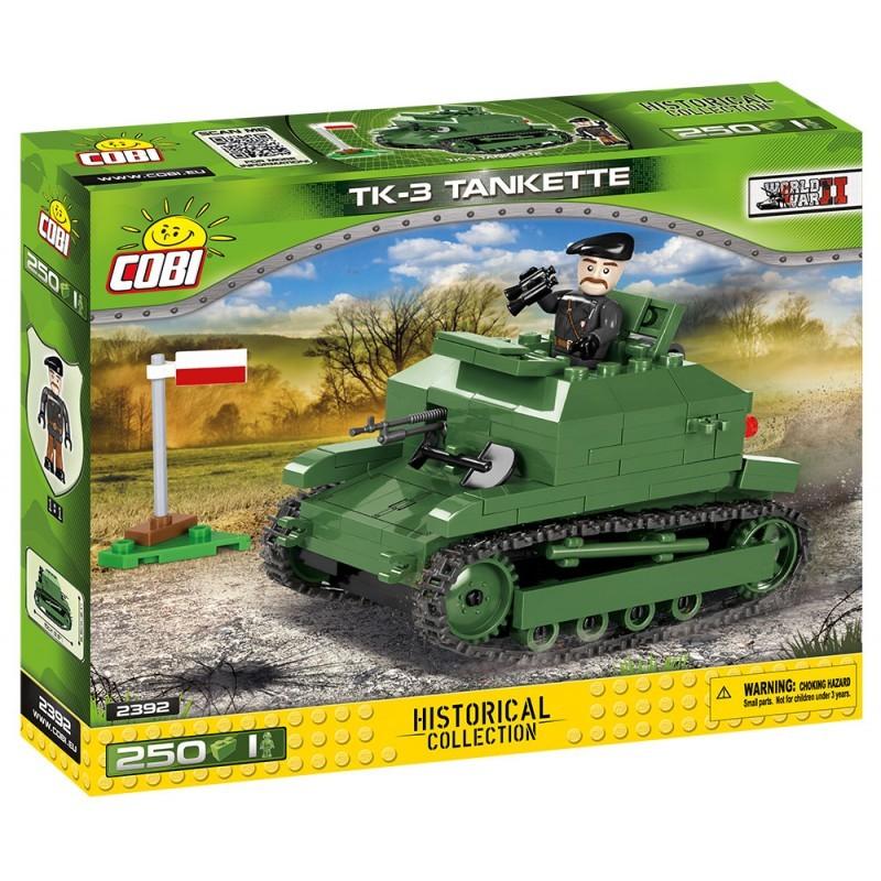 COBI - 2392 Small Army II WW TK-3 Tankette
