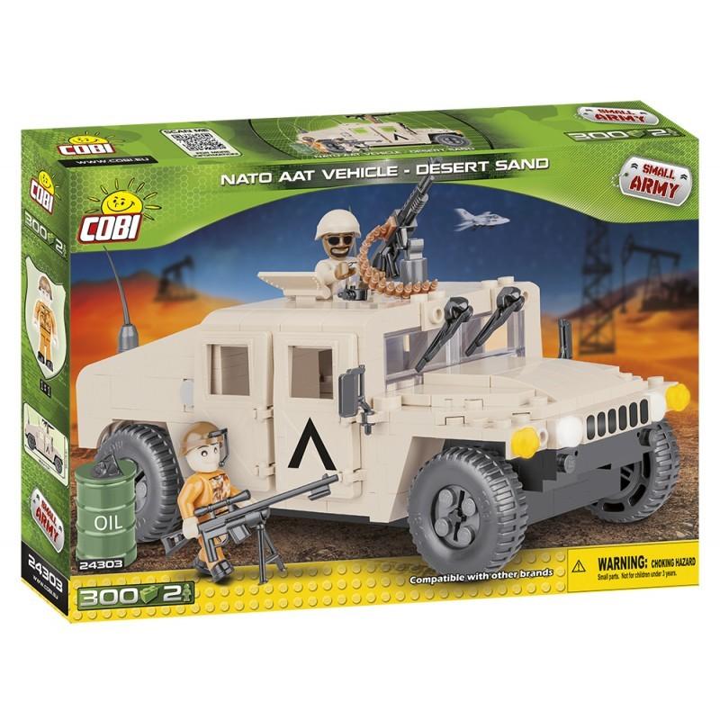 COBI - 24303 Small Army NATO terénní vozidlo pouštní