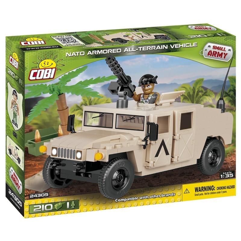 COBI - 24305 Small Army NATO terénní vozidlo pouštní