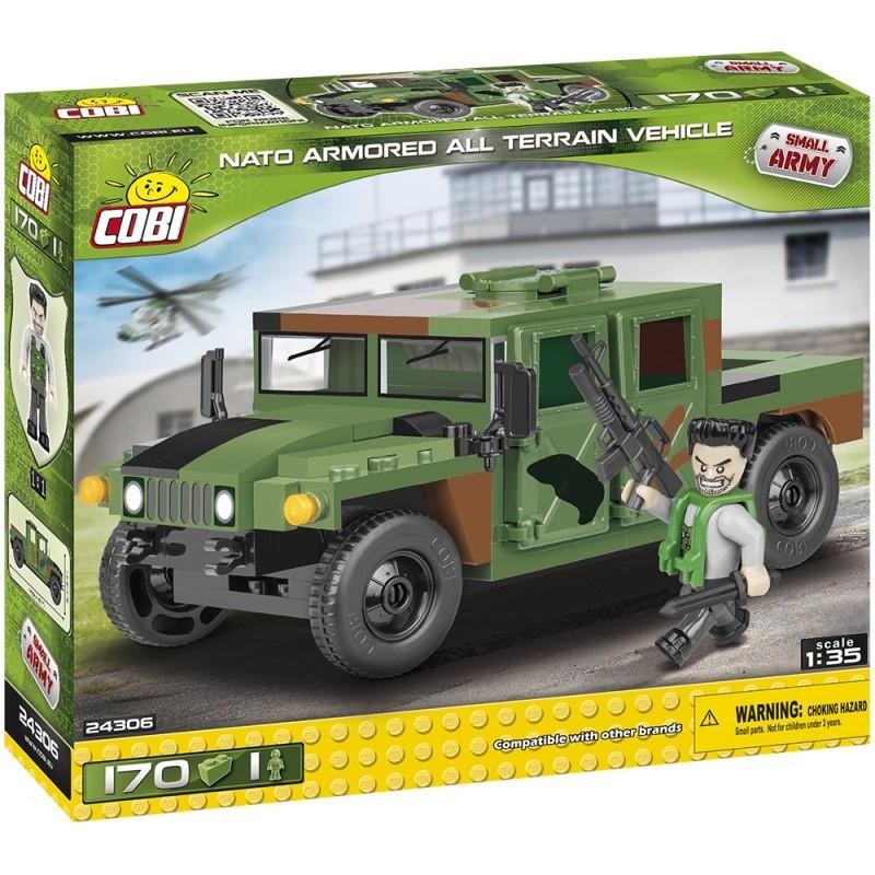 COBI - 24306 Small Army NATO terénní vozidlo zelené