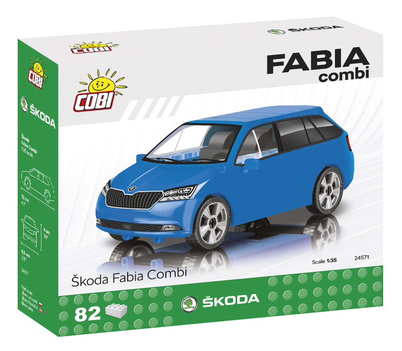 COBI - 24571 Škoda Fabia Combi 2019, 1: 35