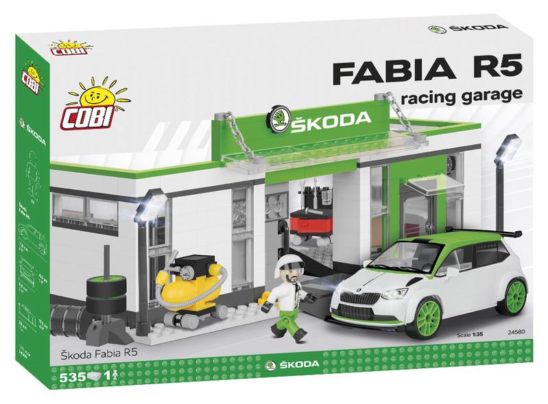 COBI - 24580 Škoda Fabia R5 - Racing garáž