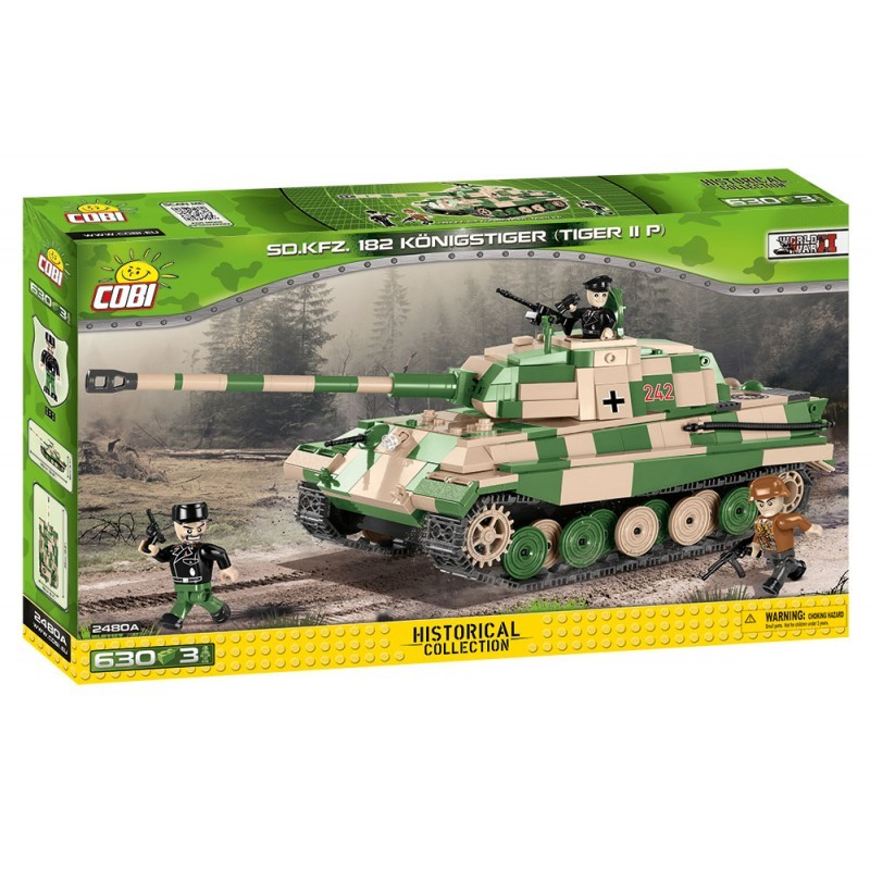 COBI - 2480 Small Army II WW PzKpfw VI Tiger II