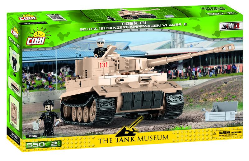 COBI - 2519 Small Army Tank Tiger 131 Sd.Kfz. 181 Panzerkampfwagen VI Ausf. E