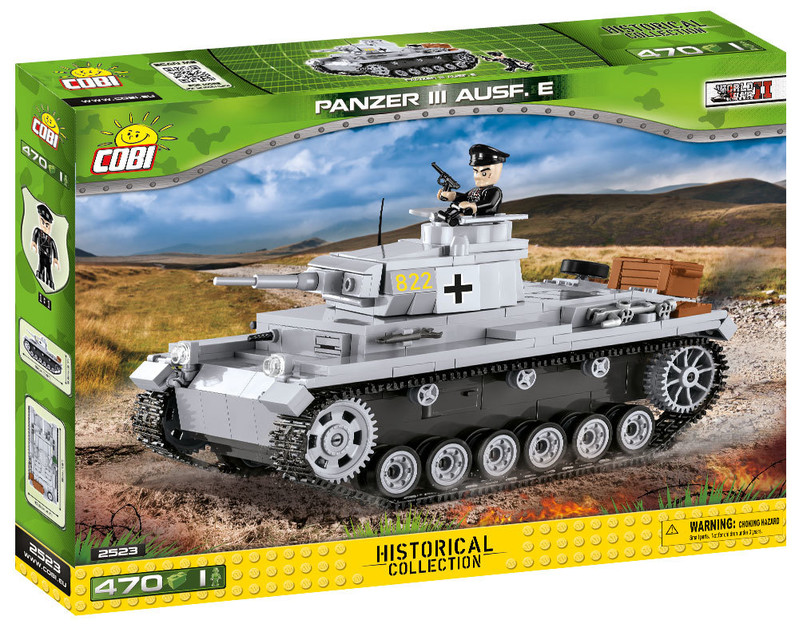 COBI - 2523 Small Army II WW Panzer III Ausf E