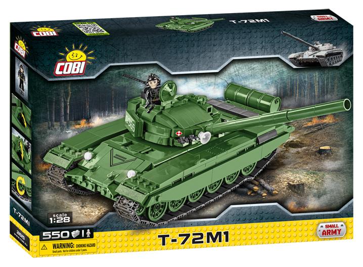 COBI - 2615Small Army II WW Tank T-72 M1, 1:28