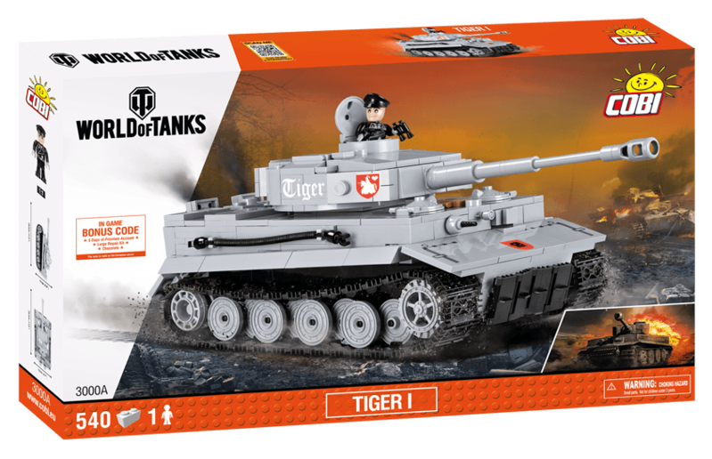 COBI - 3000B World of Tanks Tiger I