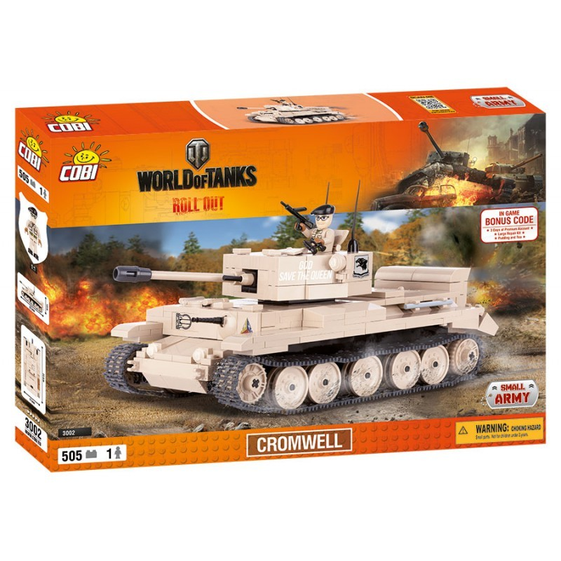 COBI - 3002 World of Tanks Cromwell