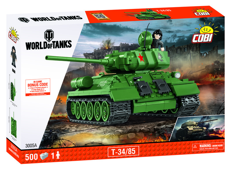 COBI - 3005 World of Tanks T34 / 85