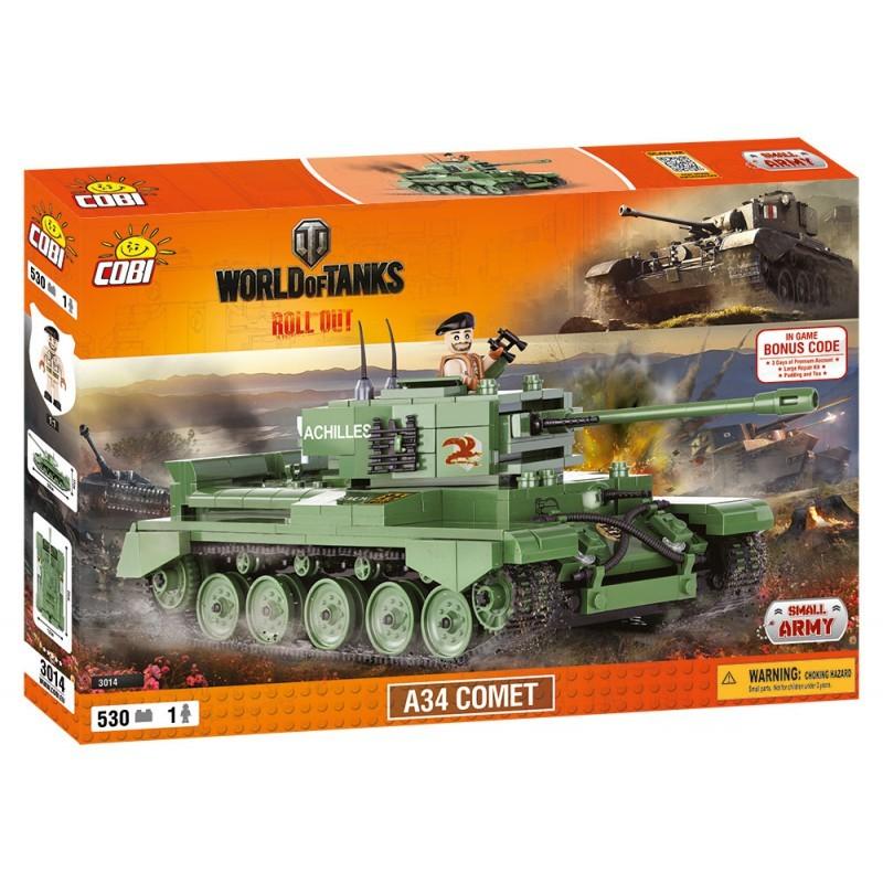COBI - 3014 World of Tanks A34 Comet