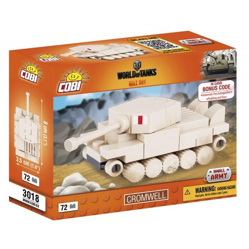 COBI - 3017 World of Tanks Nano Tank Cromwell