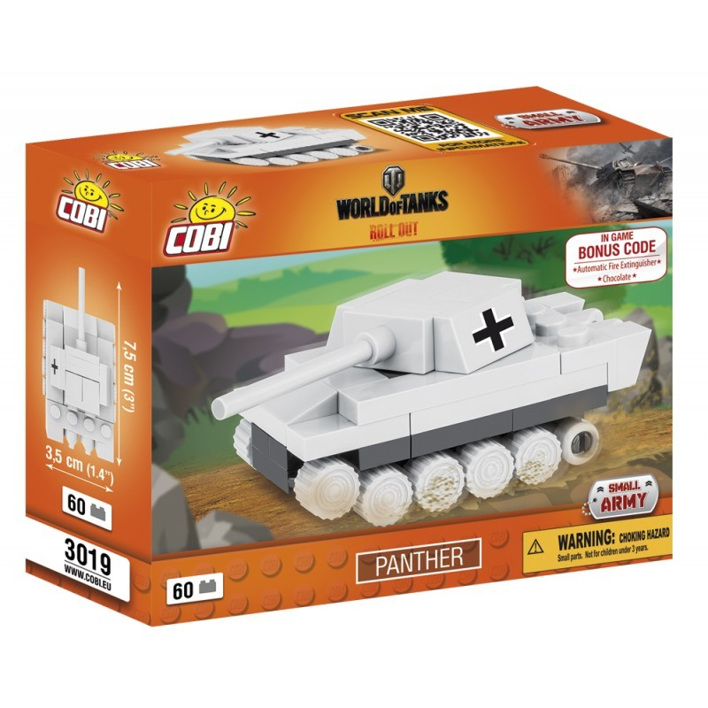 COBI - 3019 World of Tanks Nano Tank Panther