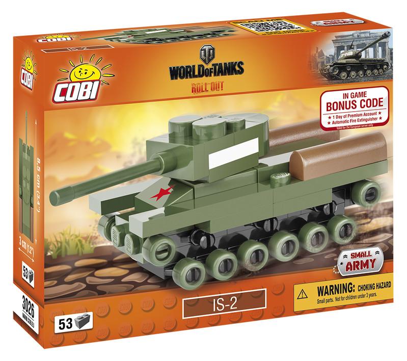 COBI - 3026 World of Tanks Nano Tank IS-2