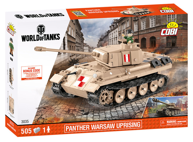 COBI - 3035 World of Tanks Panther Varšavské povstání