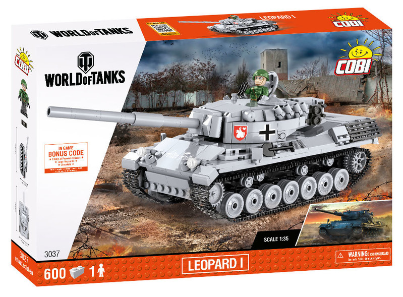 COBI - 3037 World of Tanks Leopard I