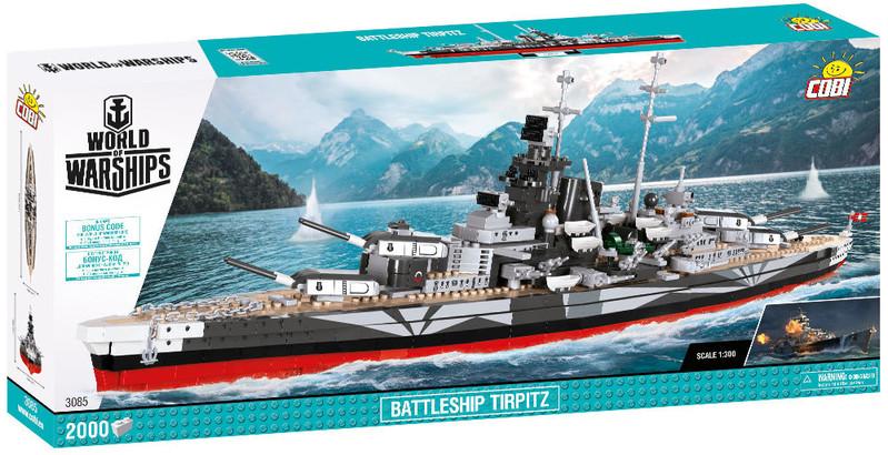COBI - 3085 World of Warships bitevníku Tirpitz