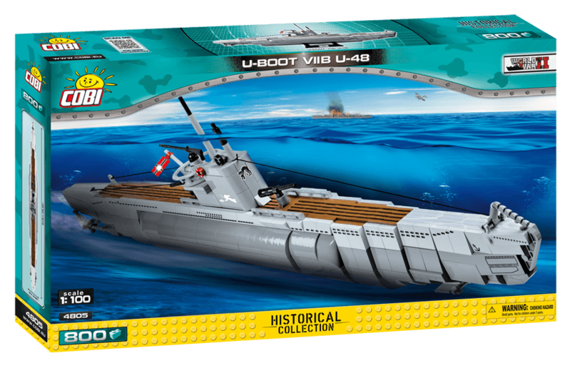 COBI - 4805 Small Army II Německá ponorka U-Boot U-48